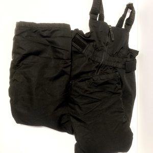Cherokee Black Toddler Snowsuit